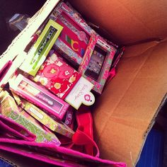 A Lilly college care package, if someone sent me this I'd love them forever