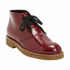 Marni Glossed Desert Boot at Barneys.com