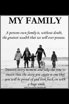 My inspiration. my motivation. Family