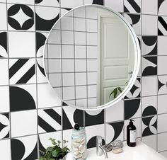 decoração de apartamento alugado azulejo com contact