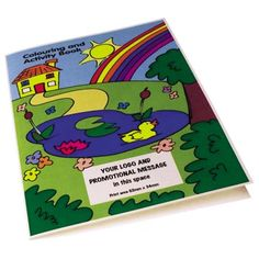 A4 Colouring Books | Low Cost Printed Merchandise | Express Lead Times