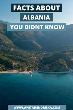 Albania is a fascinating European travel destination with many interesting daily routines and cultural Albania facts. If you are travelling to Albania and want a great Albania guide to help you understand cultural elements such as Albanian food, the Albania flag and Albania people, here are 13 interesting facts about Albania. You won't want to miss this incredible Balkan travel destination.  #visitalbania #thebalkans #albaniafacts #albaniahistory Albania Beach, Albania Travel, Visit Albania, Europe Travel Outfits, Europe Travel Guide, Travel Tips, Travel Destinations, Albanian Food, Albanian Culture