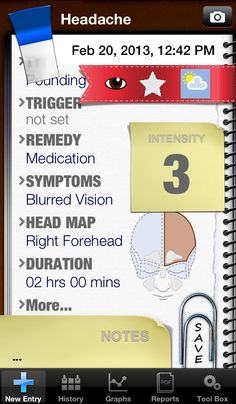health migraine iphone android apps