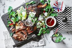 It doesn't get much better than slow-cooked lamb with a fresh and flavourful salad.  Recipe by chef Scott Pickett, from Estelle Bistro, Saint Crispin, ESP and Pickett's Deli & Rotisserie.