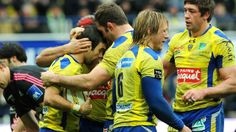 Clermont revient en leader-Rugby-Top 14