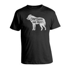 CAW Wolf T-shirt // illustration by CDA // chendesign.com