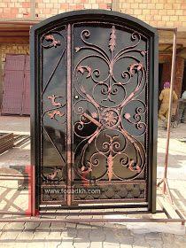 اجمل واحدث ديكورات ابواب حديد مشغول و بوابات حديد 2014 من اعملنا Grill Gate Design Gate Design Iron Gates