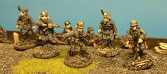 Miniatures from Great War.