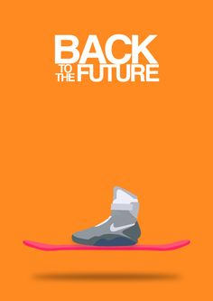 Back to the Future (1985) ~ Minimal Movie Poster by Halil Beydilli #amusementphile