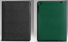 The London Leather folio for iPad Mini by Burberry for $450