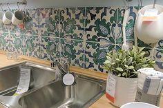 Ikea Kitchen with Caltagirone's Tiles