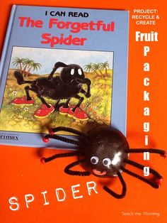 spider recycle craft