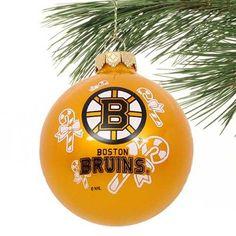 Bruins ornament yellow