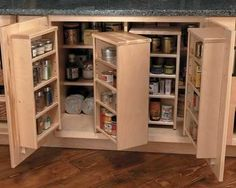 Under counter storage