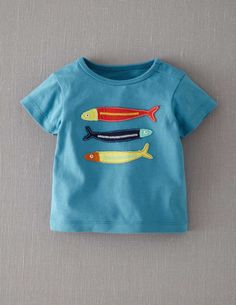 Big Appliqué T-shirt | Mini Boden