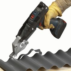 Malco TSCM Corrugated Metal Turbo Shear >>> Find out more evaluations of the item by checking out the web link on the image. (This is an affiliate link). Corrugated Tin, Corrugated Roofing, Metal Siding, Metal Roof, Metal Projects, Metal Crafts, Welding Projects, Garage, Box Patterns