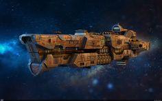 Космический крейсер Титан — Компьютерная графика и анимация — Render.ru