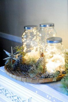 How to make Fairy Jars With Mild | easyhomeideas.com