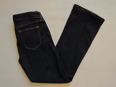 "Gap 1969 Jeans 29 8 R Sexy Boot Cut Rinse Dark Low Rise Stretch Denim 31"" 2013 #GAP #BootCut"