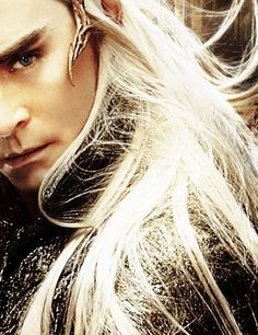 thranduillover2013: Loreal Mirkwood makes your hair glow like Thranduil's hair!