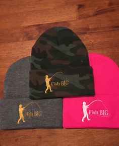 Warmth and comfort with Fish Big's think winter toque while enjoying the colder days of fishing. Fishing Pictures, Fishing Outfits, Cold Day, Big