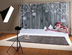 Gery Wood Christmas Photography Backdrop Seamless Backdrop Snowflake Vintage Christmas Background Snowman Branches Backdrop for Party Booth Prop Snowflake Photography, Christmas Photography Backdrops, Christmas Backdrops, Studio Foto, Snowflake Party, Photo Booth Backdrop, Backdrop Ideas, Background For Photography, Photography Backgrounds