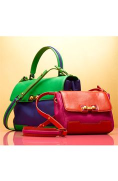 Marc by Marc Jacobs Colorblock Handbags.