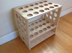 Fishing Rod Rack - Compact and Freestanding - made with CNC Router