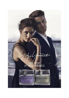 Love Story by Yohji Yamamoto Fragrance Campaign