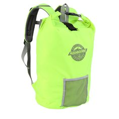 Aquabourne San Remo Florescent Yellow Waterproof floatbag Cycling Backpack a4b6bf6dfd539