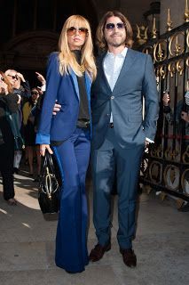 Rachel Zoe e Rodger Berman da Stella MCCartney.(Paris fashion week)