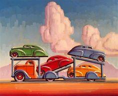 "Daily+Paintworks+-+""Primary+Colors""+-+Original+Fine+Art+for+Sale+-+©+Robert+LaDuke"