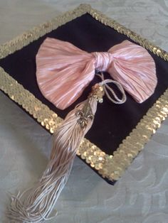 gave my graduation cap some alterations  : )