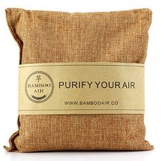 500g Bamboo Charcoal Air Purifier Bag- Natural Air Freshener Odor Eliminator & Deodorizer Removes Moisture, Allergens in Your Bathroom, Kitchen, Car, RV, Closet By Bamboo Air
