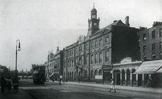 London Metropolitan University, Holloway Road looking north C1920's   by Warsaw1948