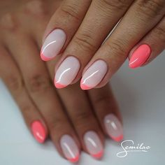 67 Best Eye-catching Acrylic Oval Nails Inspiro Idea For Summer 2019 - Page 41 of 67 - Diaror Diary - 67 Best Eye-catching Acrylic Oval Nails Inspiro Idea For Summer 2019 – Page 41 of 67 – Diaror D - Round Nail Designs, Nail Art Designs, Nails Design, Round Nails, Oval Nails, French Nails, Hot Nails, Hair And Nails, Gorgeous Nails