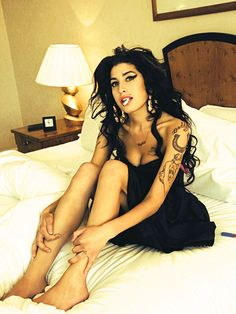 Amy Winehouse  = definition of rock and roll such a loss for music, R.I.P HON