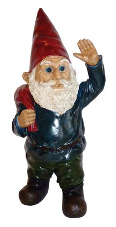 Features:  -Material: Resin/Plastic.  -Traditional style .  -Multi colored .  Product Type: -Statue.  Color: -Multi-colored.  Style: -Traditional.  Material: -Resin/Plastic.  Theme: -Gnome.  --