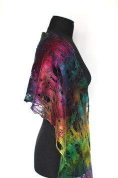 Silk scarf by Marina Shkolnik