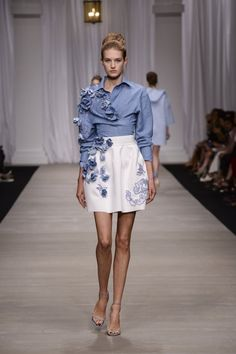 FashionTV Mobile | Gallery | Ermanno Scervino Spring/Summer 2015 Collection
