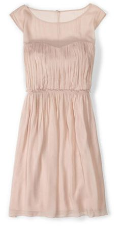 Classic light pink pretty dress