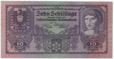 10 Schillinge 1925 (Männerportrait) Österreich Erste Republik