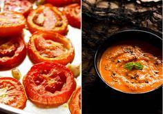 roasted tomato soup recipe, how to make roasted tomato soup recipe