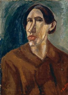 Chaim Soutine - SELF PORTRAIT, oil on canvas on MutualArt.com