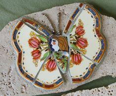 Broken plate butterfly