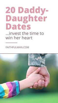 Every young girl (and a lot of older girls, too!) has a place in her heart that asks a question: Does Dad think I'm special? Read the 20 date ideas. Raising Daughters, Raising Girls, Daddy Daughter Dates, Christian Parenting, Growing Up, Investing, Encouragement, Parents, Dads