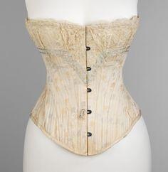 """ Corset ca. 1898 From the Metropolitan Museum of Art """