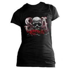 Sons of Anarchy T Shirt Due Tone SAMCRO Rock Moto http://rebelleetlabete.com/femme/149-t-shirt-due-tone-sons-of-anarchy.html