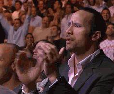 applause, unbelivable, dwayne johnson, the rock, clap