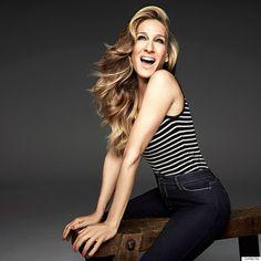 Sarah Jessica Parke en PIN UP sexy pour les jeans Jordache